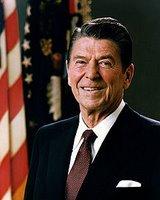 Ronald Reagan, U.S. president, 1981-1989