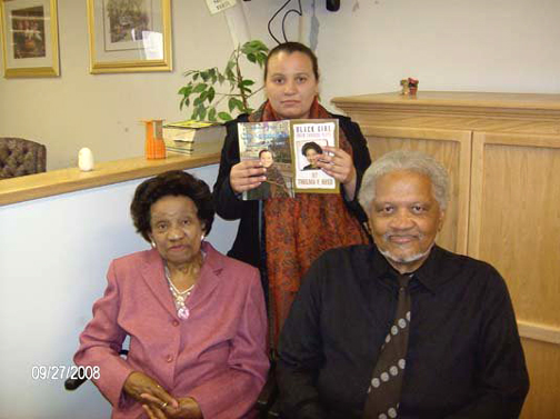 Tennessee Reed with Thelma Reed and Ishmael Reed