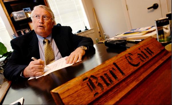 Warden Burl Cain – Photo: Paul Taggert, NPR